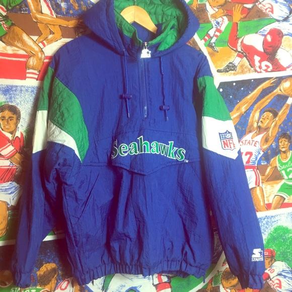 cfeec4c479e Vintage Seattle Seahawks Pullover Starter Jacket. M_5c40f57e2beb797e14515943